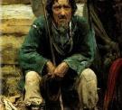 Сказитель былин Никита Богданов. 1876