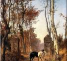 В парке. Нормандия. 1874